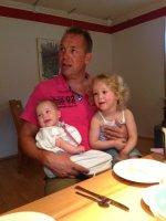 Ontbijt met de dochters